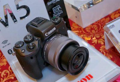Kamera Mirrorless Canon Eos M5 Resmi Dijual Harga Mulai Rp 14 Juta
