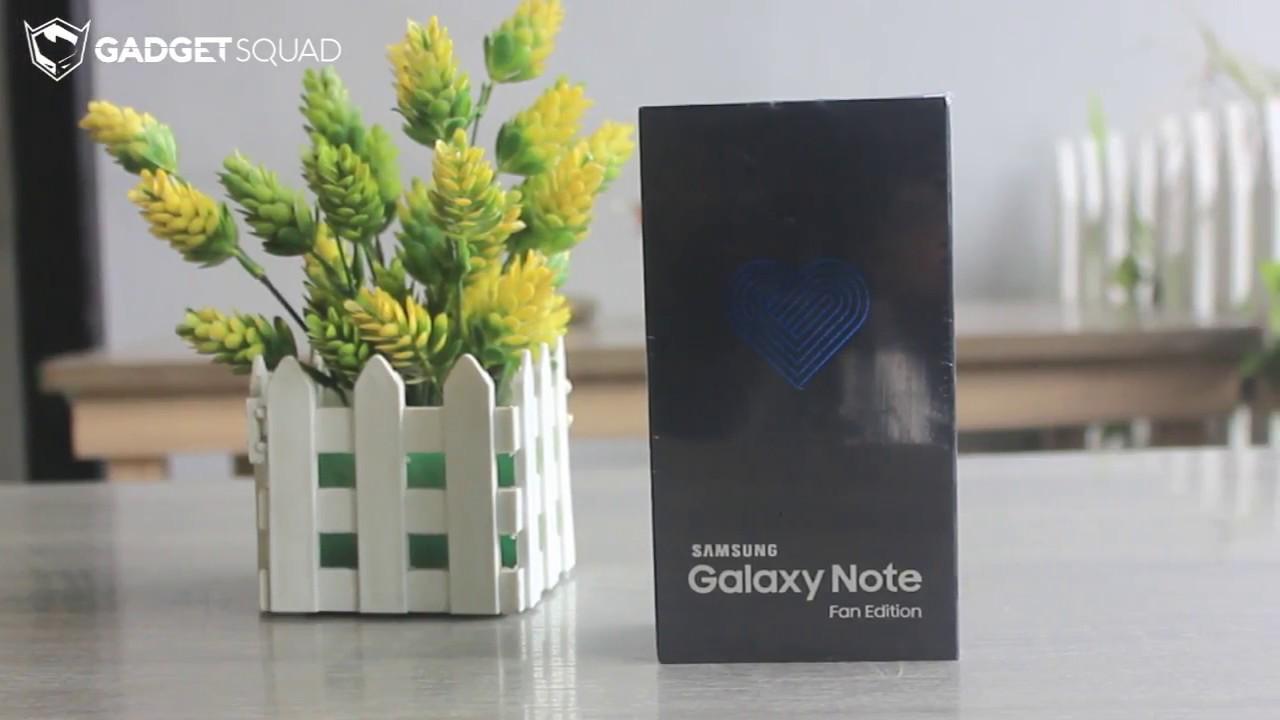 paket penjualan dan Hands-On samsung galaxy note fe (fan edition)