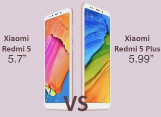 xiaomi redmi 5 vs redmi 5 plus