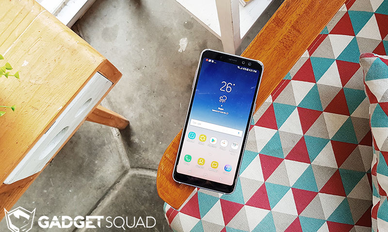 review samsung galaxy a8