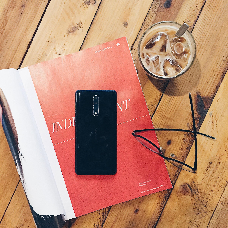 Hasil Foto Nokia 8