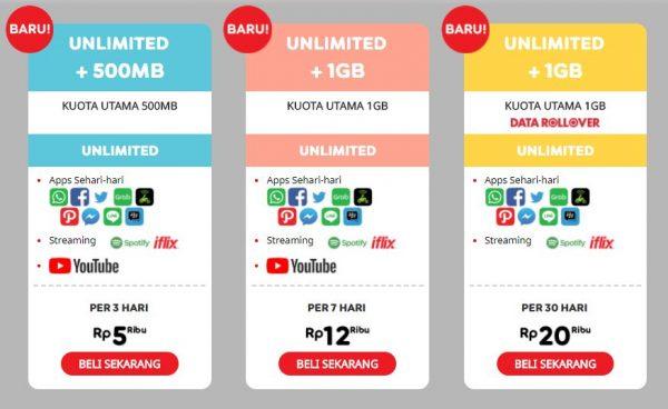 Paket Internet Ini Berikan Akses Youtube Sepuasnya Cuma Rp 5000 Gadgetsquad Id