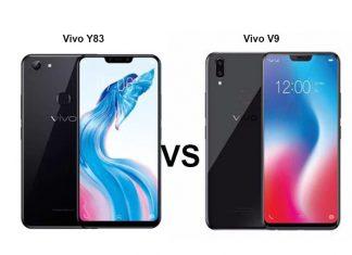 vivo y83 vs vivo v9
