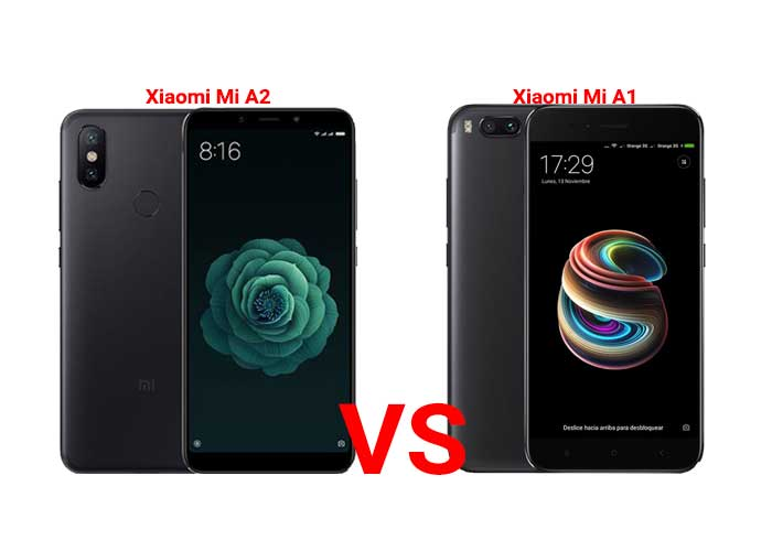 Xiaomi Mi A2 vs Mi A1