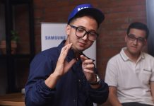 Asian Games 2018, Edho Zell bikin vlog pakai Samsung Galaxy J8