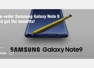 pre order samsung galaxy note 9