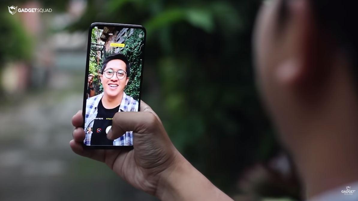 review vivo v11 pro _selfie