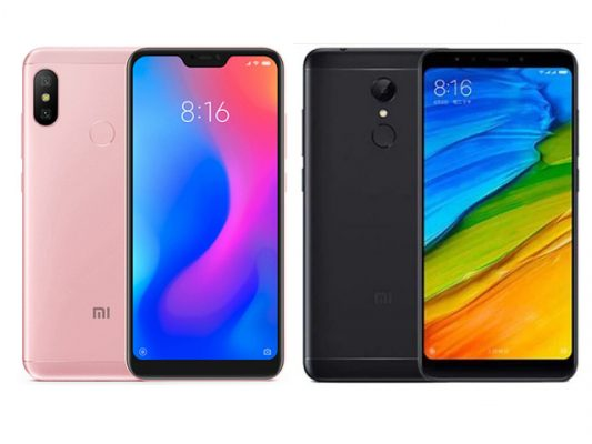 xiaomi redmi 6 vs redmi 5