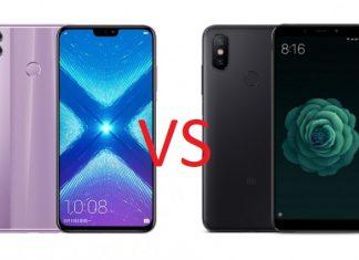 Xiaomi Mi A2 VS Honor 8X
