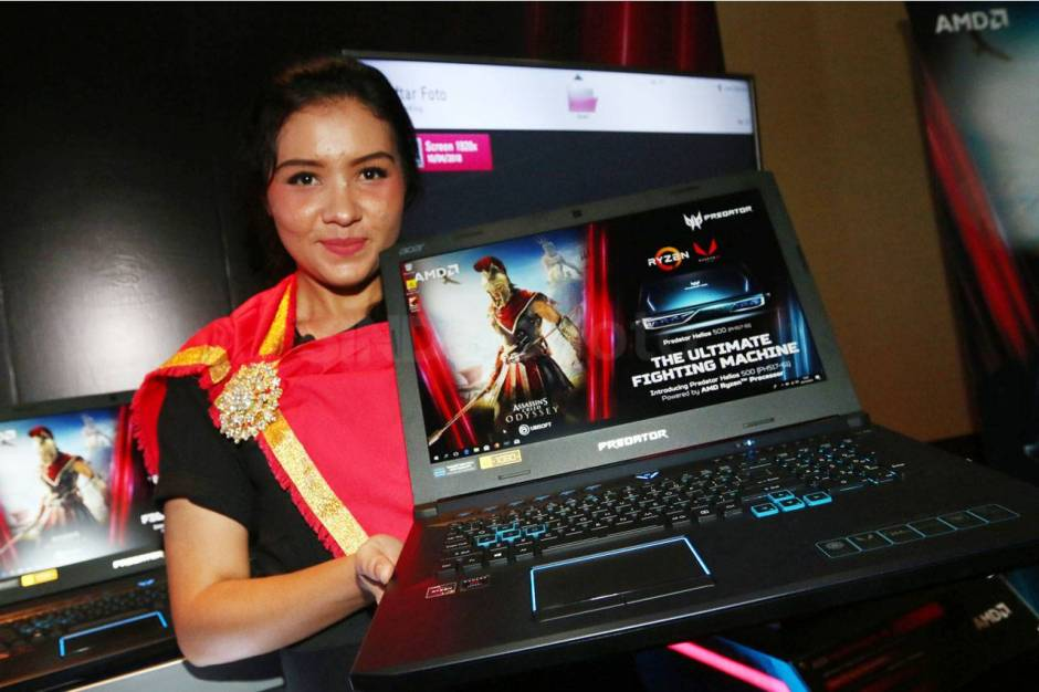Laptop Gaming Predator Helios 500 dengan AMD Ryzen Gen Kedua thumbnail