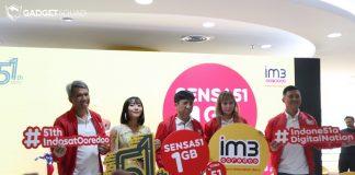 Indosat Ooredoo Hadirkan Paket Internet 1GB Sensa51 Hanya Rp 51 (2)