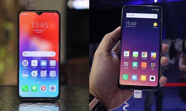 Realme 2 Pro Vs Xioami Redmi Note 6 Pro Adu Hp Terbaru Rp 3 Jutaan