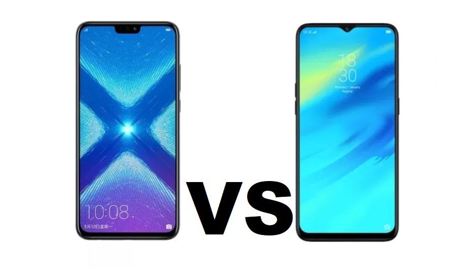 realme 2 pro vs honor 8x
