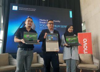 Lenovo Yoga C930 dan Yoga S730 Resmi Diperkenalkan di Indonesia.