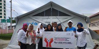 Berikan DonasiPalu Donggala dan Selat Sunda, TriGunakan Teknologiaplikasi bima+