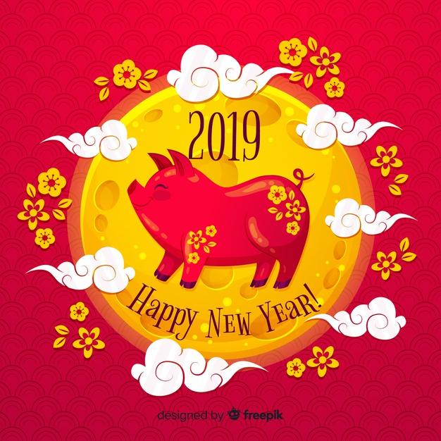 Kumpulan Gambar dan Ucapan Tahun Baru Imlek 2019 Buat Postingan Sosial Media