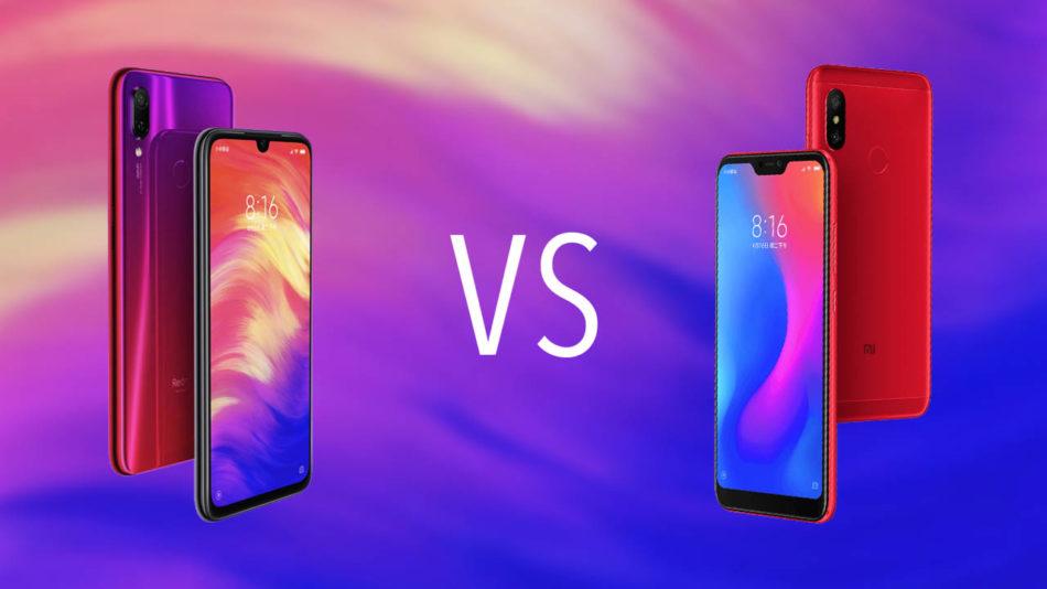 Redmi Note 6 Pro vs Redmi Note 7