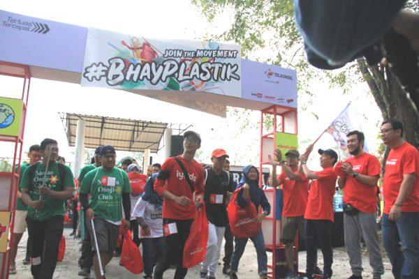 Telkomsel Ajak Masyarakat Bijak Pakai Plastik Lewat #BhayPlastik