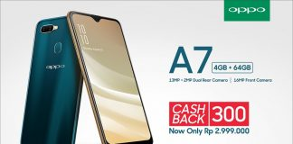 Hp OPPO A7 Cash Back