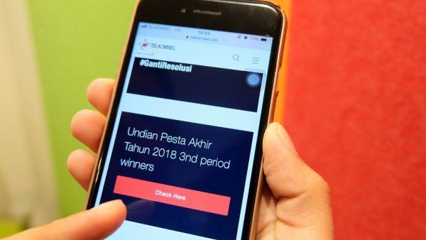 Pemanang Undian Pesta Akhir Tahun Telkomsel