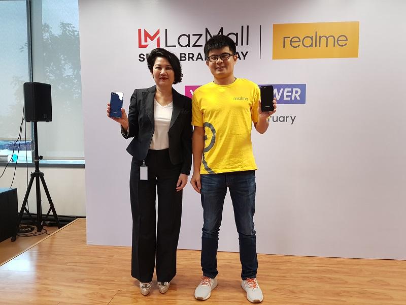 Realme C1 2019 Tersedia di Lazada