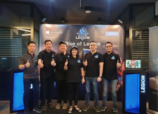 turnamen eSport Lenovo Rise Of Legion