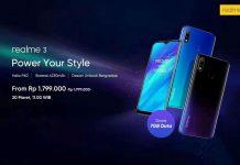Besok Hp Realme 3 Mulai Dijual Online, Harga Sejutaan Ada Hadiahnya!