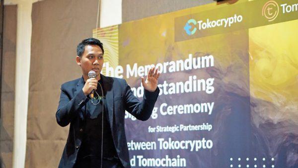 Dorong Revolusi Industri Berbasis Blockchain, Tokocrypto Bekerjasama dengan TomoChain