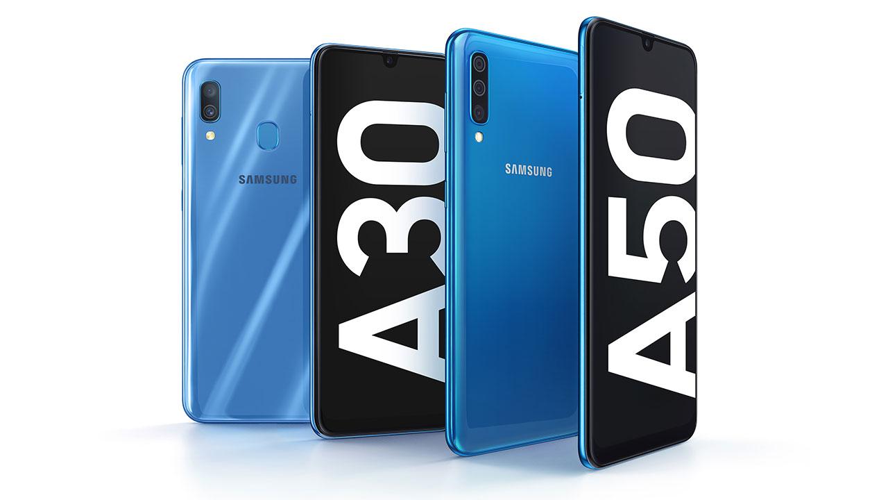 Samsung Galaxy A5, A30, A20 dan A10