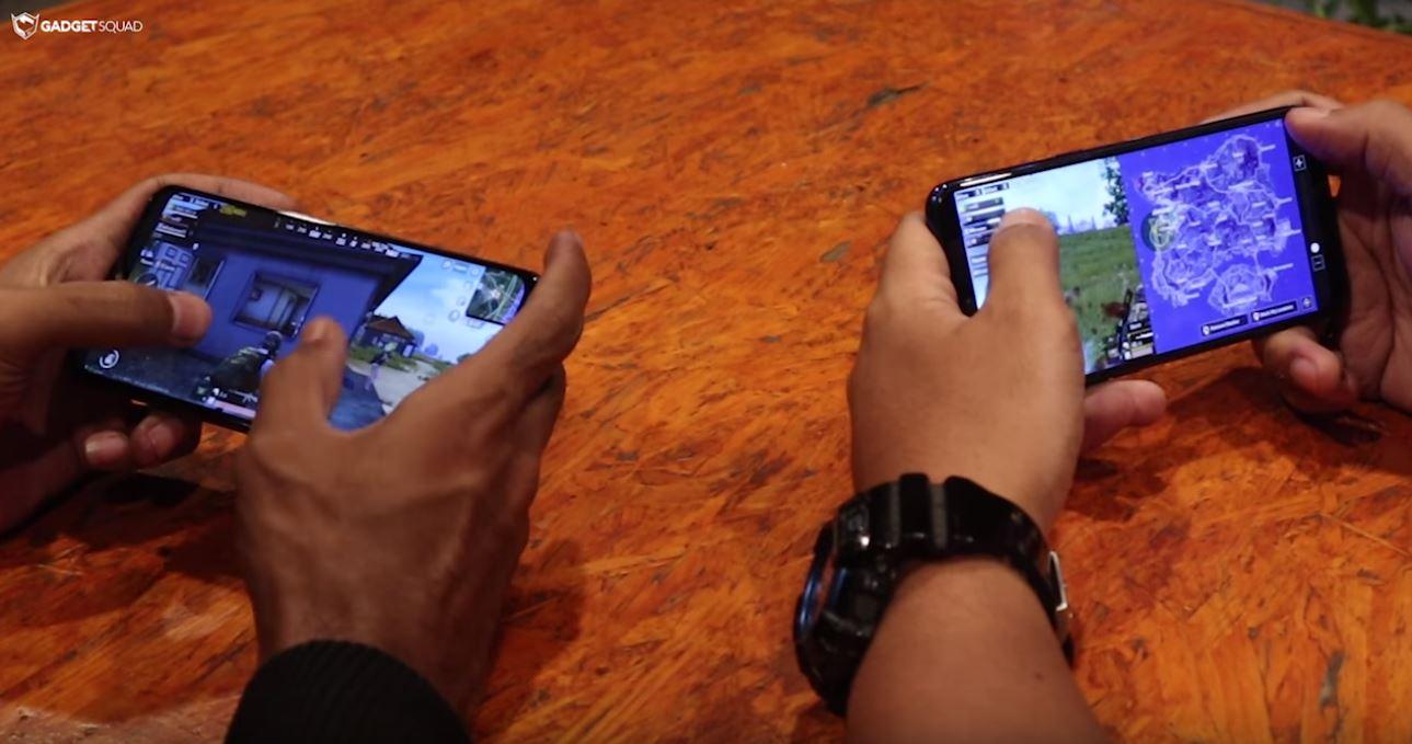 Realme 3 vs Samsung M20 PUBG