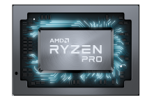 AMD Ryzen PRO Mobile Chip Shot - Front