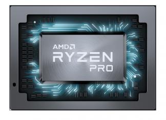 AMD Ryzen PRO Mobile Chip Shot - Front