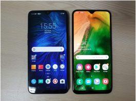 Samsung Galaxy A20 vs Realme 3 a