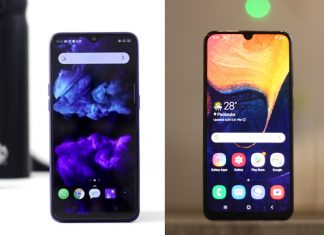 Compare Realme 3 Pro vs Samsung Galaxy A50