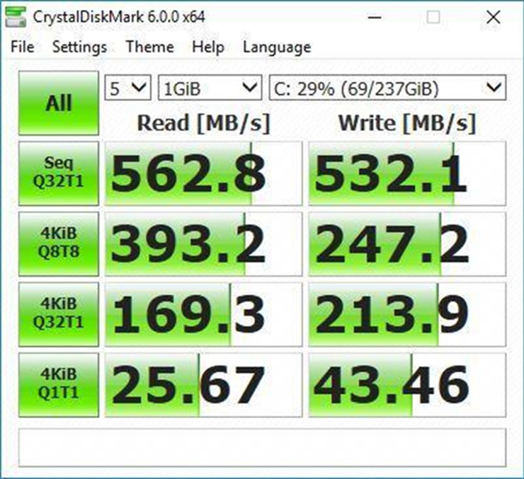CrystalDiskMark 6