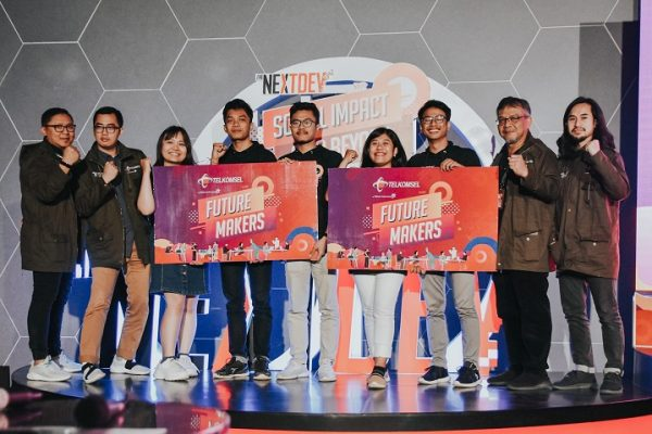 Dua Start-Up Telkomsel NextDev Academy Wakili Indonesia di Singtel Group Regional Future Makers 2019