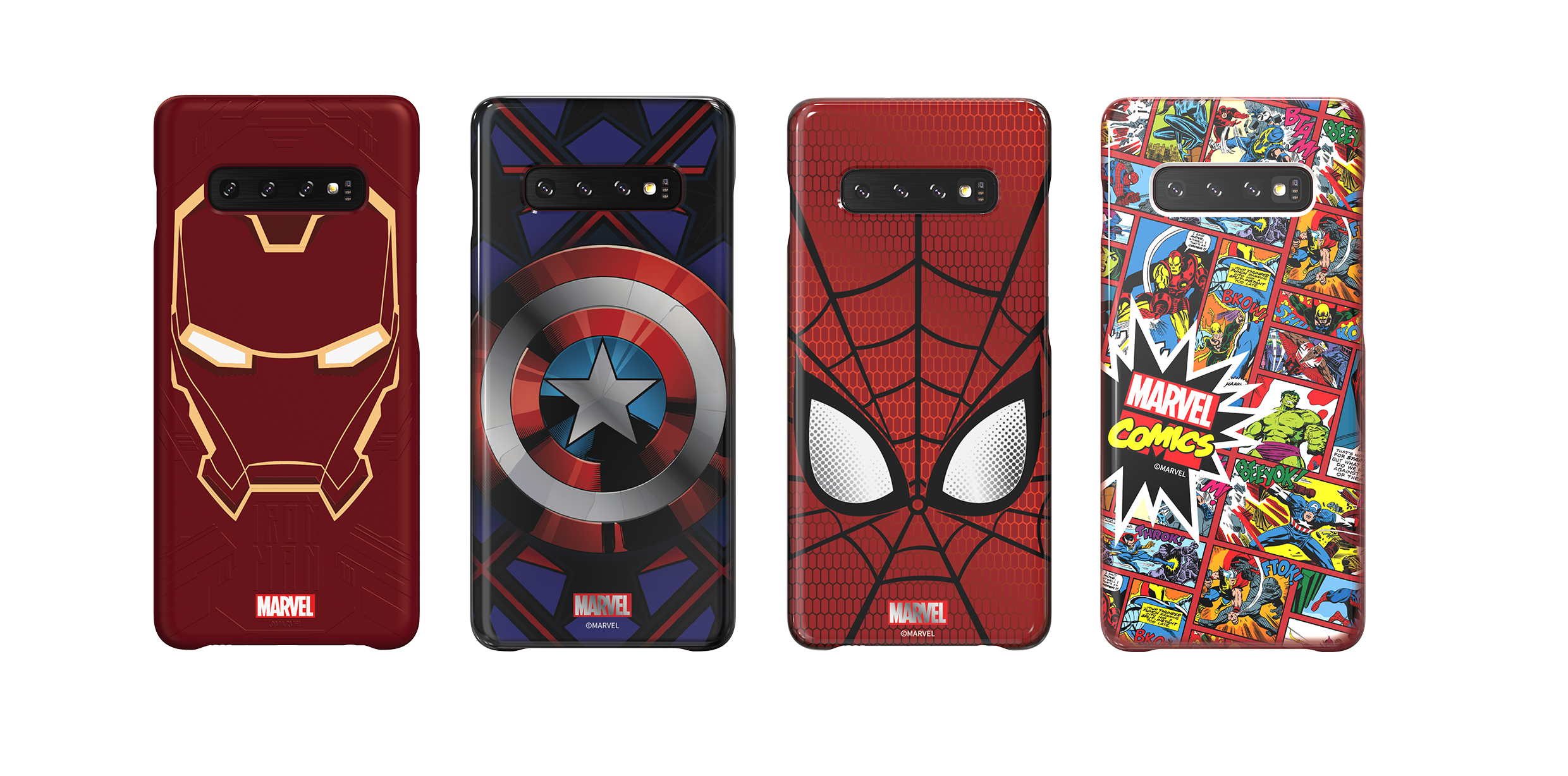 Galaxy S10 Marvel Case