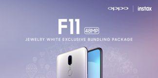 OPPO F11 Jewelery White 2