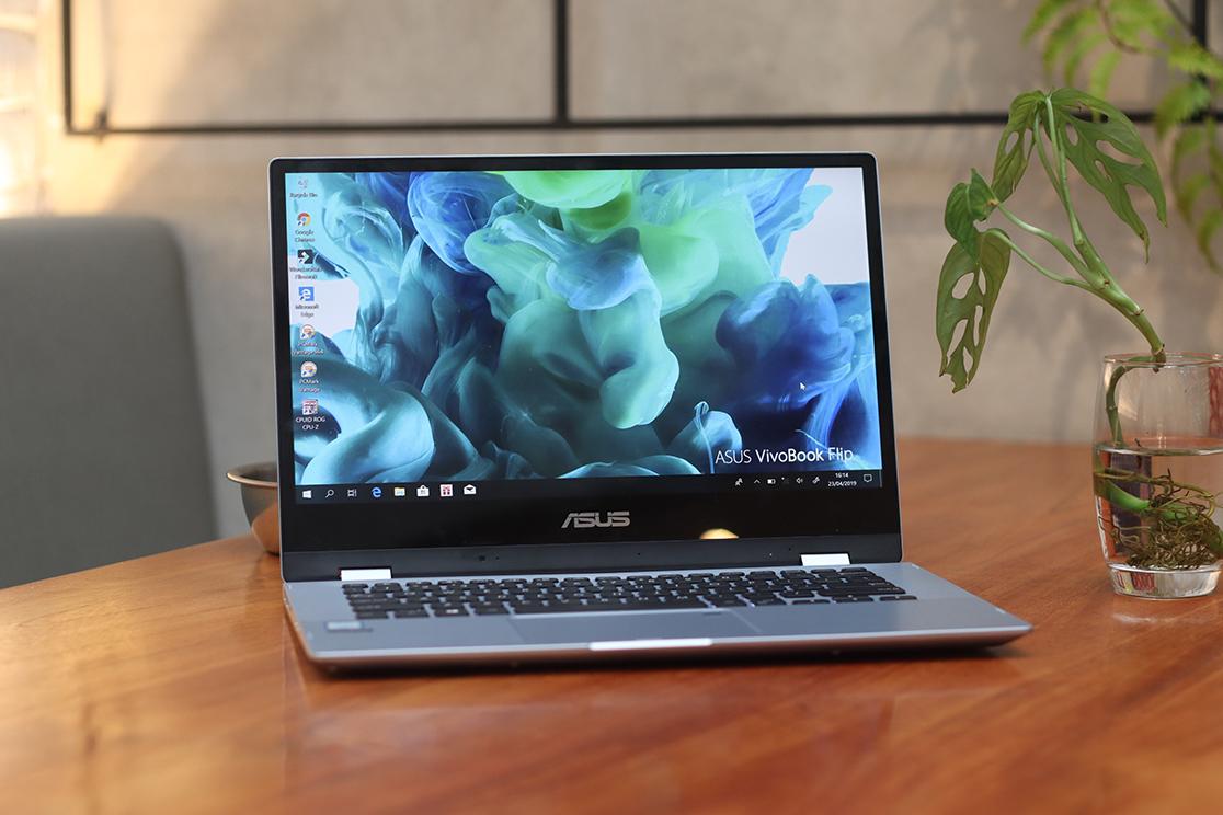 Review ASUS VivoBook Flip TP412 Desain Hybrid dengan Asus Pen (5)