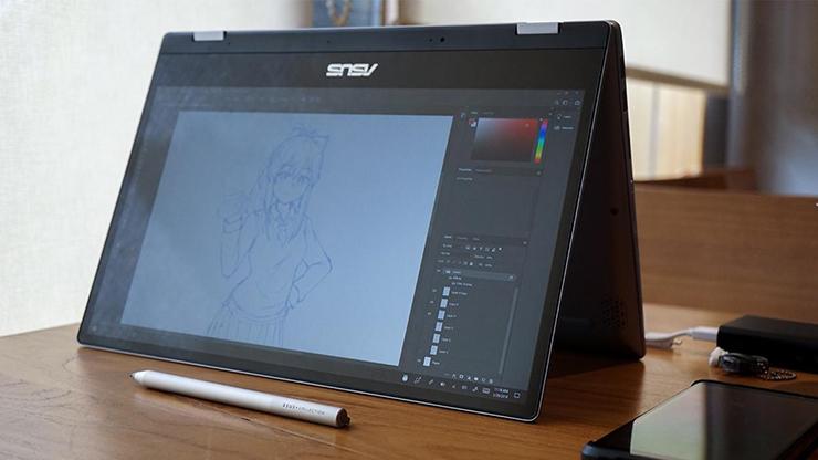 Review ASUS VivoBook Flip TP412 Desain Hybrid dengan Asus Pen (7)