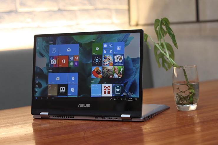 Review ASUS VivoBook Flip TP412 Desain Hybrid dengan Asus Pen (8)
