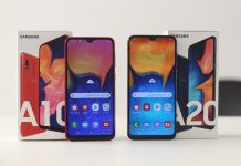 Samsung Galaxy A10 vs A20