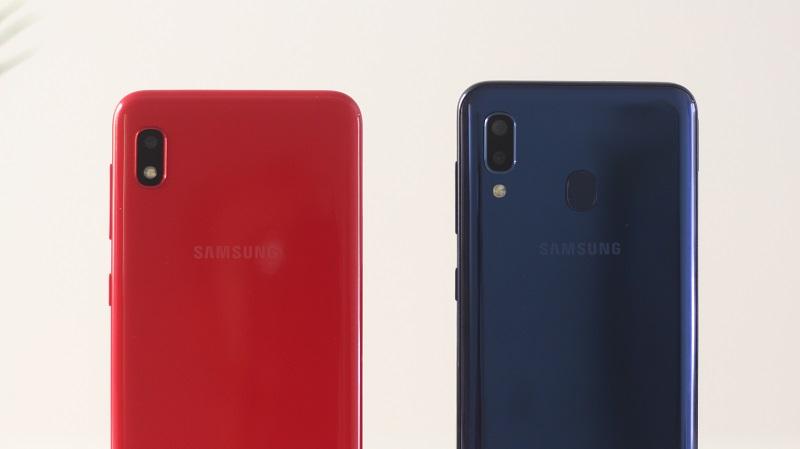 Samsung Galaxy A10 vs A20