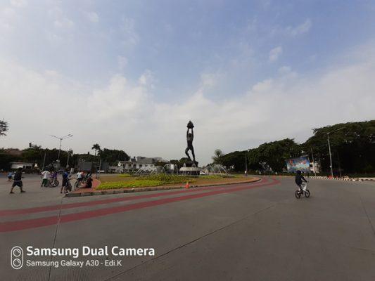 hasil foto ultra wide Samsung Galaxy A30 3
