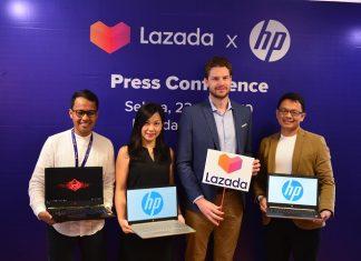 Lazada dan Hewlett-Packard Gelar HP Brand Day
