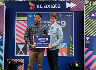 "XL bagikan hadiah XTRAvaganza & FantAXIS"" dan ""XpLay & BombAXIS"