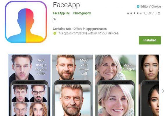 aplikasi FaceApp