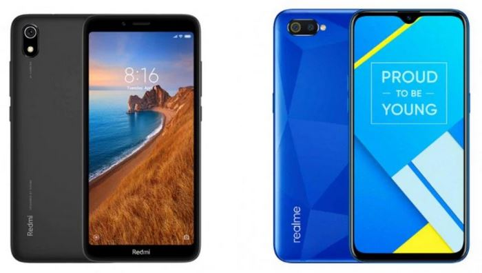 Redmi 7A VS Realme C2