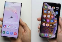 Samsung Galaxy Note 10 Plus VS iPhone Xs Max