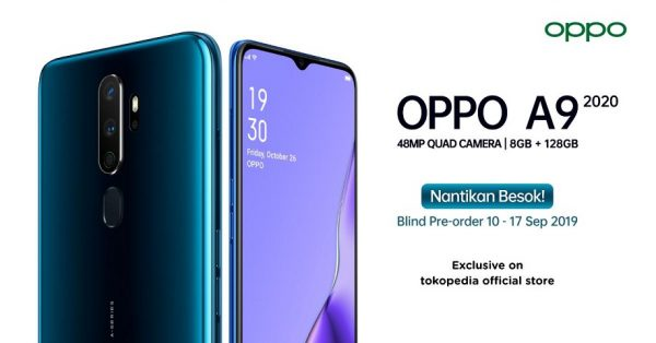 OPPO A9 2020 Blind Preorder